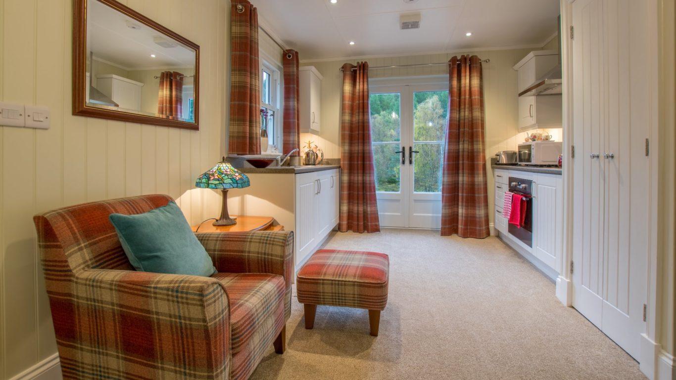 Studio Modular Home Living Area The Wee House Company